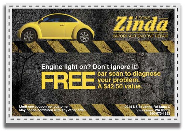 Free car scan!